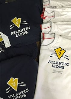 JUSTSO Clothing and Merchandise promotional case study - The Atlantic Lions