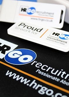 JUSTSO Clothing and Merchandise promotional case study - HR Recruitment