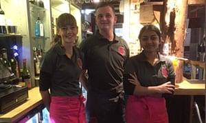 JUSTSO Clothing and Merchandise promotional case study - The Red Lion at Hernehill